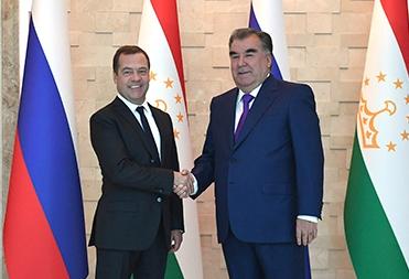 Встреча с Председателем Правительства Российской Федерации Дмитрием Медведевым