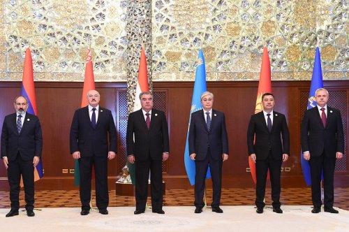 Президент Республики Таджикистан Эмомали Рахмон принял участие в работе заседания Совета коллективной безопасности ОДКБ
